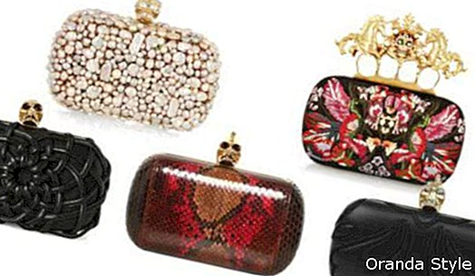 Más embragues memorables por Alexander McQueen