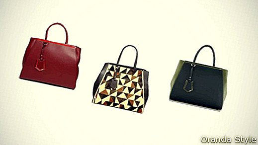 New Fendi Bag Fall / Winter 2012-13: Fendi 2jours