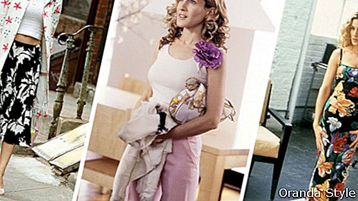 Carrie Bradshaw Style Inspiration