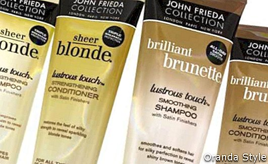 Sheer Blonde Lustrous Touch stiprinošs šampūns