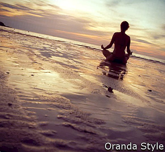 Yoga Beach Sunset 7