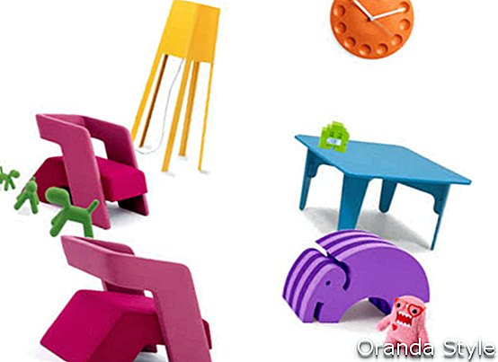 Richard Shemtel Rebel Chair And Other Kids Furniture