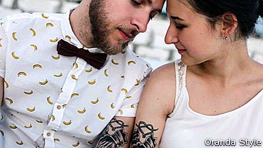 Cosas a tener en cuenta antes de hacerte tatuajes de parejas