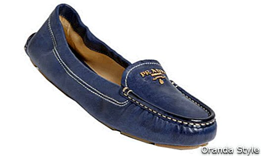 Prada Scrunch Loafers