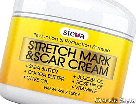 Sieva Skincare Stretch Mark and Scar Removal Cream